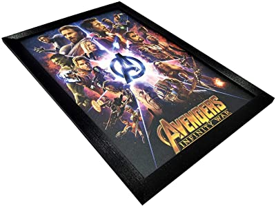 Gallery99 Avengers Infinity Wars Textured (Scratch/Dust Proof) Quote (19.25 inch x 13.25 inch)