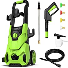 Sponsored Ad – [Pro Version] Paxcess Electric Pressure Washer 1800W 135bar 450L/H High Power Jet Washer with 4 Quick-Conne...
