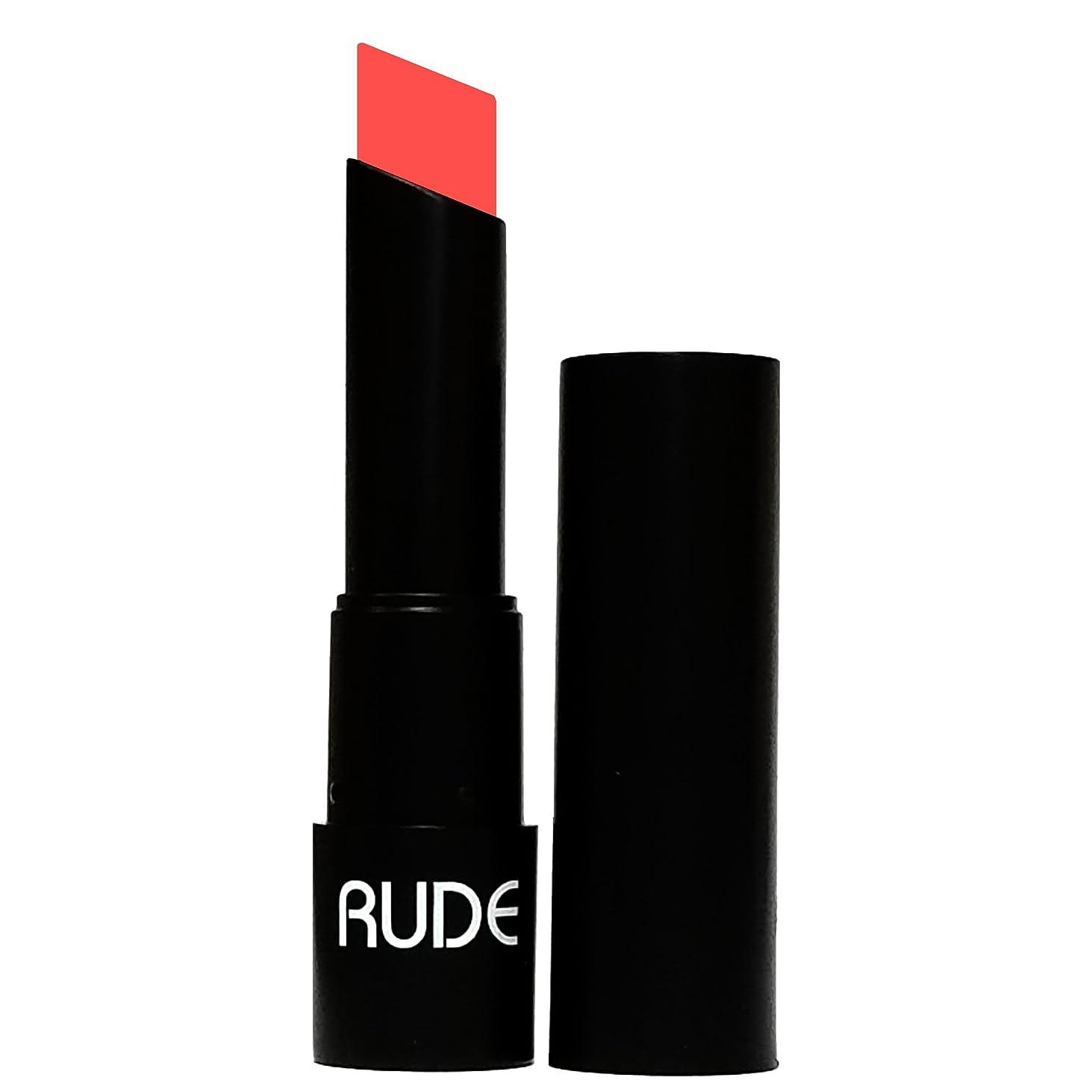 オリエンテーション楕円形仕様(6 Pack) RUDE Attitude Matte Lipstick - Pompous (並行輸入品)