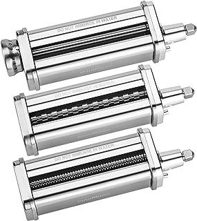 Accessoire de Pâtes pour KitchenAid Batteur Sur Socle, 3 en 1 Accessoires pour Machine à Pâtes pour KitchenAid, COFUN Adap...