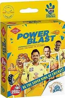KAADOO Power Blast-CSK Cricket Card Game
