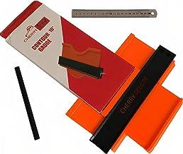 شكل الشكل الشخصي كونتور أداة قياس - مبرد أرضية مزدوج الزاوية للاستخدام متعدد الوظائف - مكتشف تخطيط الفينيل بدقة في المنزل...
