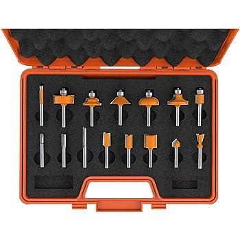 CMT 663.004.11/Insert carbure Spoilboard Panneautage Router Bit avec 2 3//20,3/cm de diam/ètre et 12/mm x 50/mm Tige