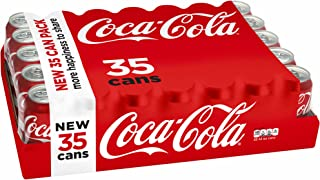 Coca-Cola Drink Cans, 12 Fl. Oz. (Pack Of 35)