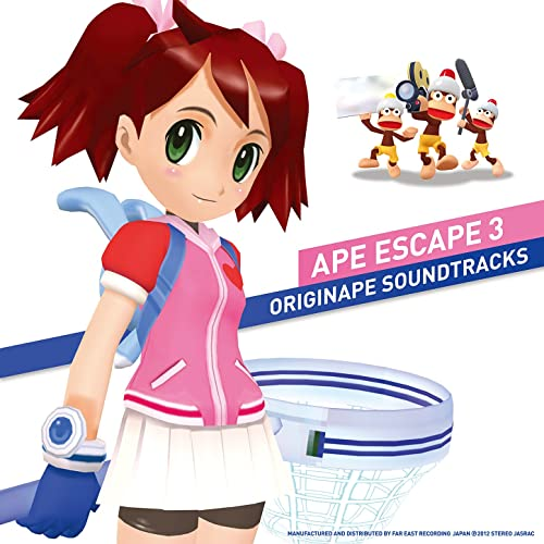 Ape Escape 3 - Originape Soundtracks / サルゲッチュ3・オリジサル・サウンドトラック