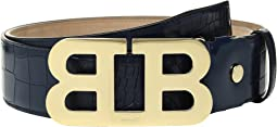 Bally - Mirror B 45 Croc Stamped Belt