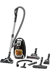 Aspiradora 550 W, Aspiradora cil/índrica, Secar, Bolsa para el polvo, 4,5 L, Filtro higi/énico Rowenta Silence Force RO6487