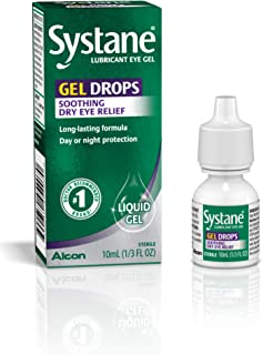 Systane Lubricant Eye Gel Drops, 10-mL (Packaging May Vary)