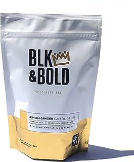 Sponsored Ad - BLK & Bold | Lemon Ginger Herbal Tea | Loose Leaf | 2-Pack (3oz per pack)