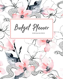 Budget Planner Organizer: Daily, Monthly & Yearly Budgeting Calendar Organizer for Expenses, Money, Debt and Bills Tracker...