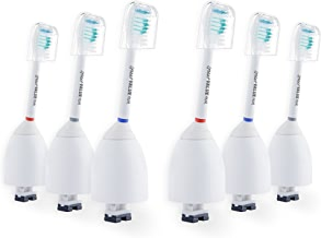 6X Sonic Replacement Brush Heads Compatible with Philips Sonicare E-Series Toothbrush fits Elite, Essence, Advance, CleanCare, Xtreme, eSeries, HX7022, HX7023, HX7026 by Great Value Tech