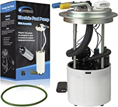 Electric Gas Fuel Pump Module Assembly E3768M /P76297M with Pressure Sensor Float Reservoir Strainer and Tank Seal Replacement for GMC Yukon 2012-2014 V8-6.2L and Chevrolet Tahoe 2011-2014 V8-5.3L