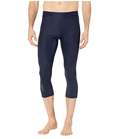 adidas Alphaskin Sport 3/4 Tights (Legend Ink) Men