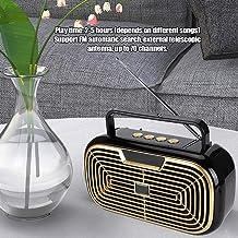 Alto-falante Bluetooth, resistente portátil prático durável compacto alto-falante de rádio, para dança quadrada exercício ...