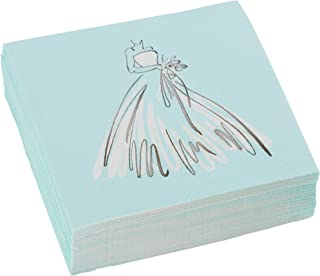 C.R. Gibson 'Here Comes The Bride' Beverage and Cocktail Napkins, 40pc, 5'' W x 5'' L