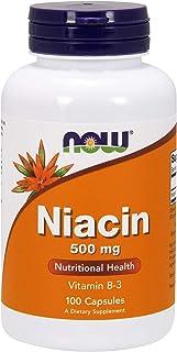 Now Foods Niacin Capsules - P4069