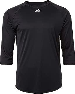 Men's Triple Stripe ¾ Sleeve Tech Baseball Practice Shirt
