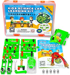 OSOYOO Science Learning kit,Electricity and Magnetism Experiment Set,Building Circuits,for Students in Grades 3-9 (Advanced Lab Kit