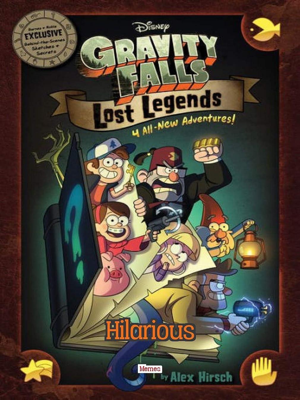 悪行風味疑わしいThe Funny Gravity Falls memes (English Edition)