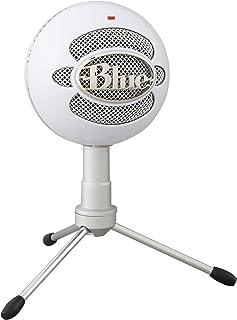 Blue Micrófono USB Snowball ICE Plug'n Play para grabación, podcasting, broadcasting, streaming de gaming en Twitch, locuc...