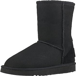 Shenduo Scarpe Donna Invernali - Stivali da Neve, Classico, a Mezza Gamba DV5825