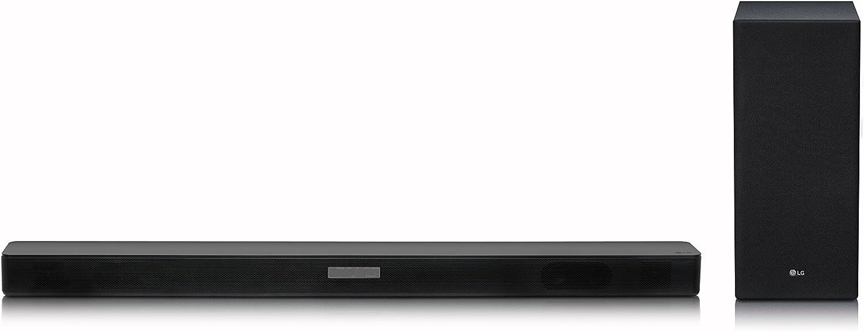 LG SK200 20.20 Soundbar mit Drahtlosem Subwoofer und DTS VirtualX Surround  Sound schwarz