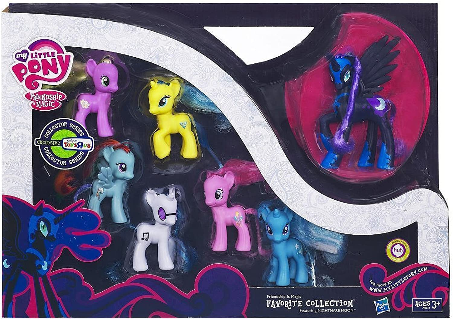 Hasbro Nightmare Moon My Little Pony Friendship is Magic  Favorite Collection  Collector Series New Release 2012