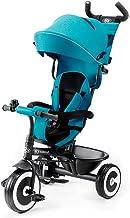 Kinderkraft driewieler ASTON, duwfiets, duwdriewieler, eerste kinderfietsje, vrije wiel functie, met zonnekap, duwstang, v...