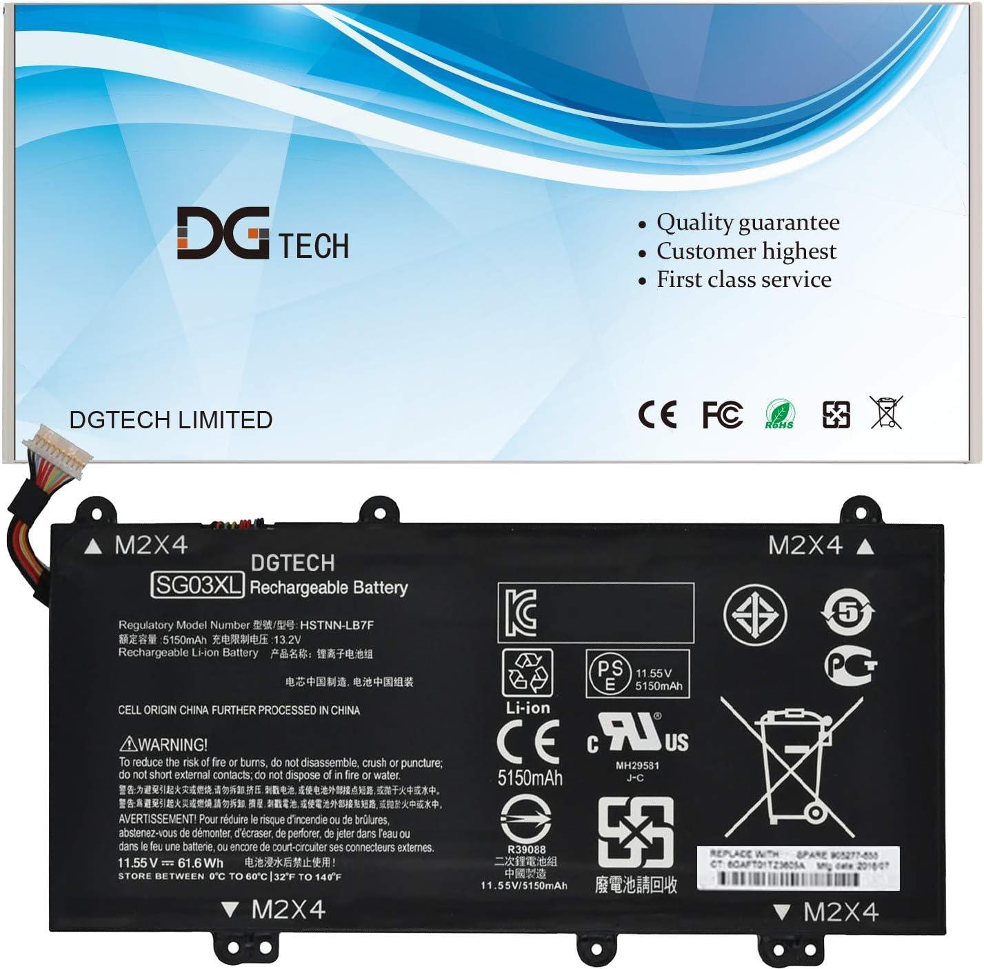 DGTECH New SG03XL Max 50% Quantity limited OFF Laptop Battery HP Compatible Envy 17 17-u011nr