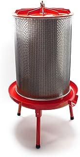 Hidroprensa 20 litros 3 bar Acero inoxidable Prensado de frutas Prensado de mosto
