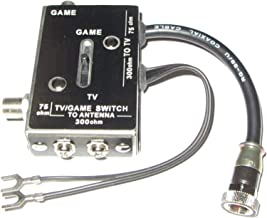 Atari 2600 TV / Game Computer Switch Box with Cable Coaxial Hookups 75 OHM