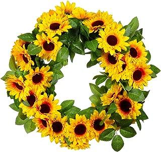 Best diy sunflower door wreath Reviews