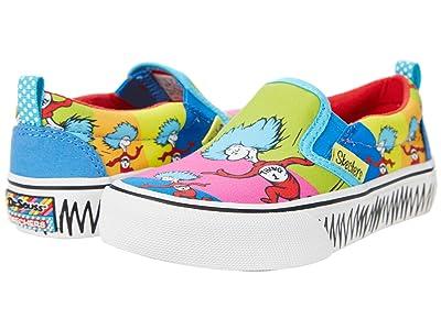 SKECHERS KIDS Sport Dr. Seuss Marley Jr. Things Ran Up 314989L (Little Kid/Big Kid) (Multi) Girl