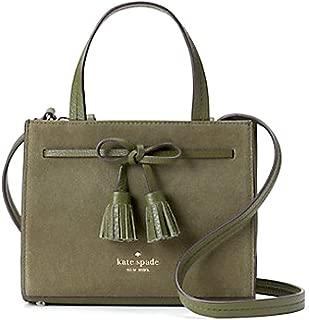 Kate Spade Women's Hayes Suede Small Satchel Women's Leather Handbag