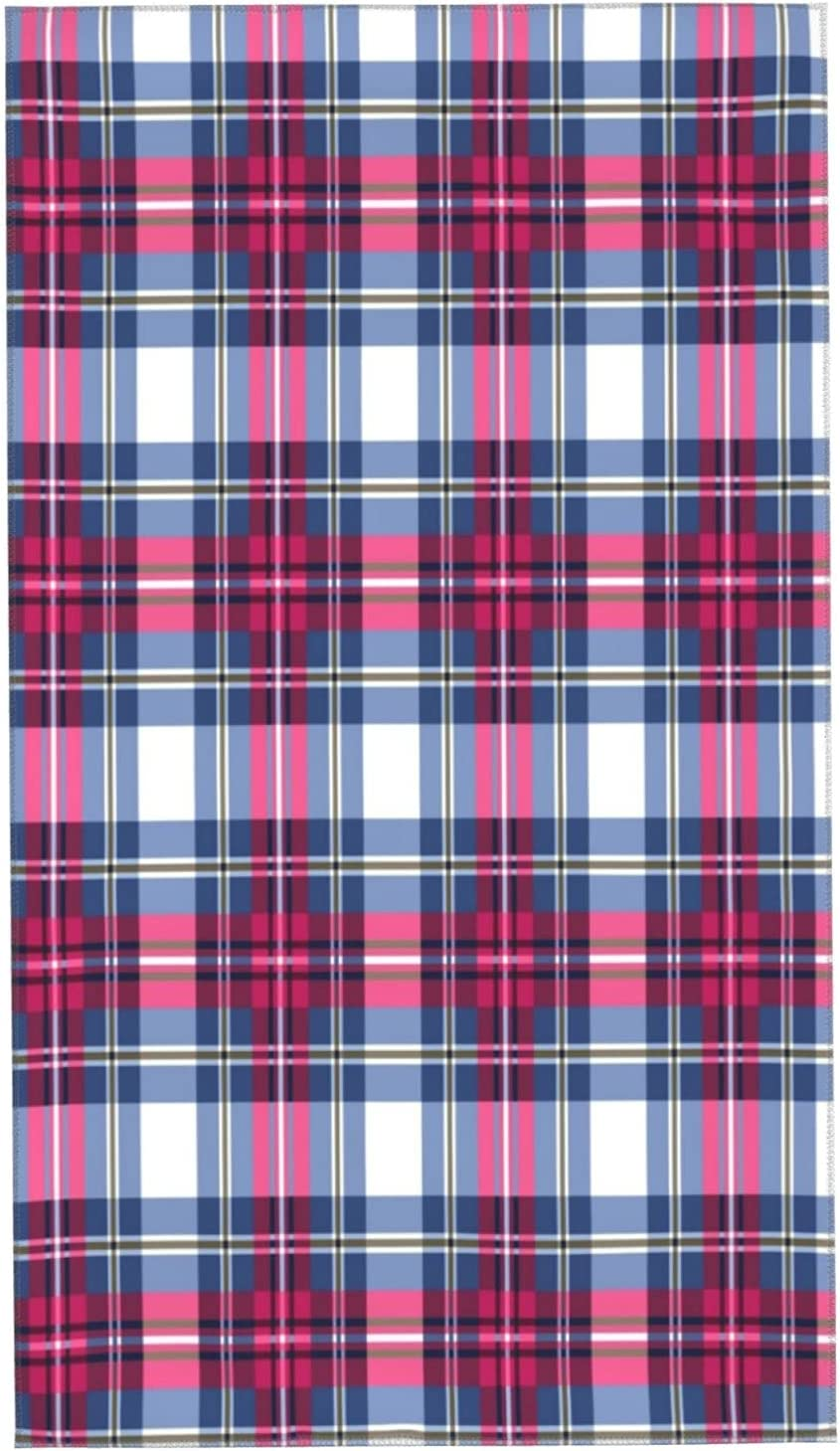 GUVICINIR Hand trend rank Towels for Bathroom Set Plaid Patte of Abstract A surprise price is realized 2