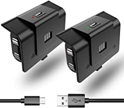 2 Pack Rechargeable Controller Battery Pack Compatible...