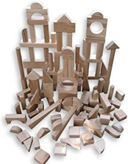 product image for Beka 120-Piece Special Shapes Wooden Blocks