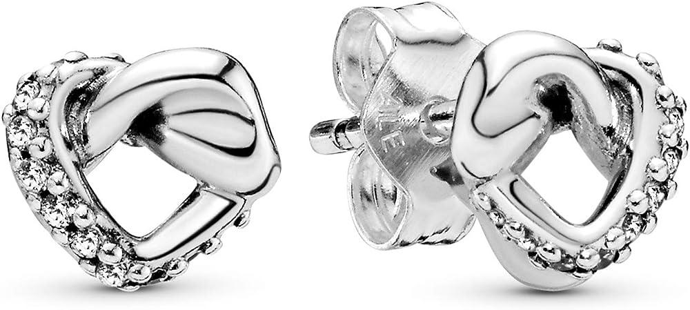 Pandora orecchini a perno in argento stearling 925 298019CZ