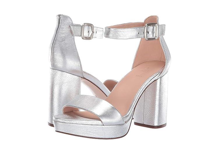 60s Shoes, Boots Naturalizer 27 Edit Briar Silver Metallic Leather Womens Shoes $144.95 AT vintagedancer.com