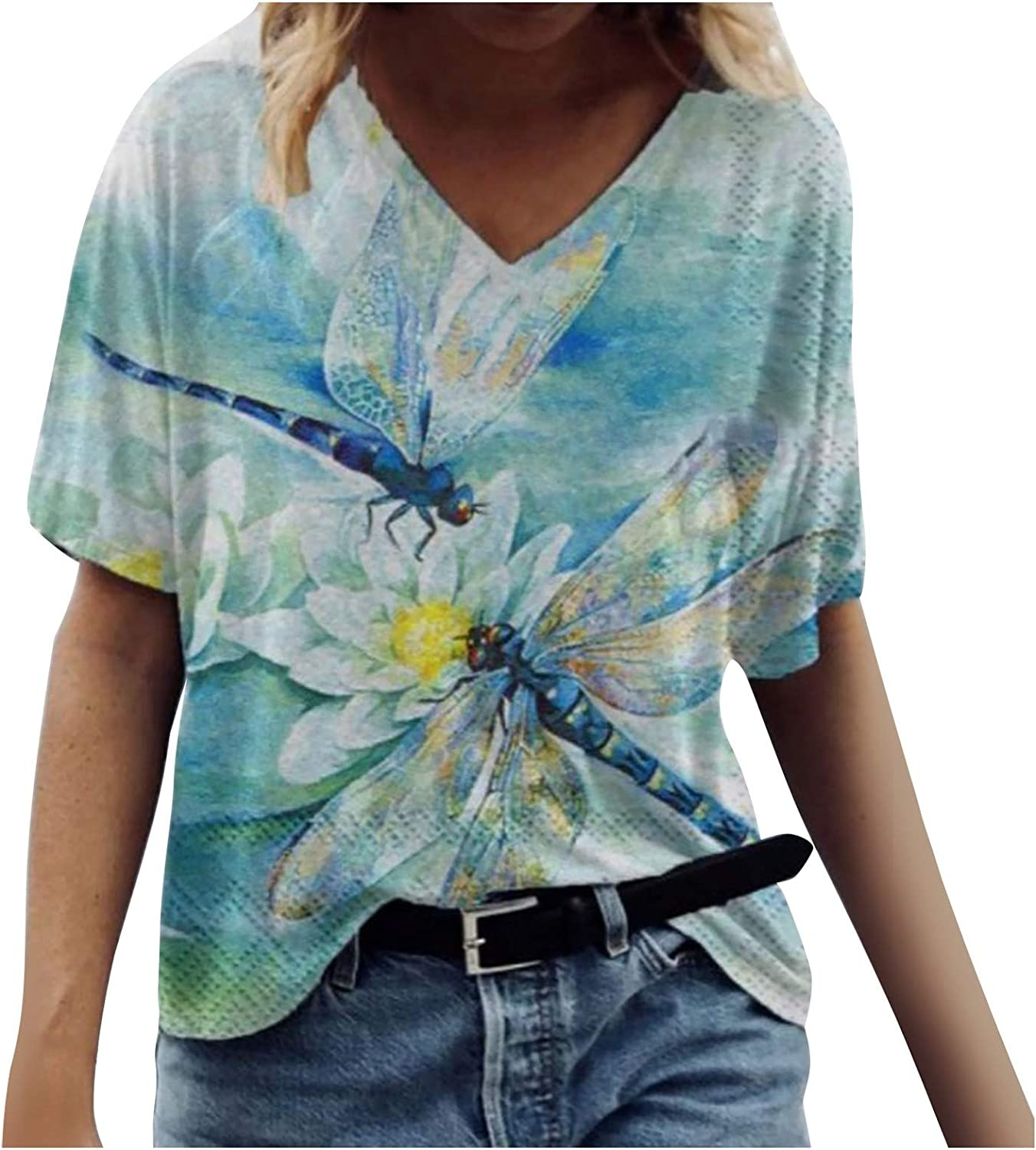 Women Max 44% OFF Blouses and free Tops Fashion Plus Print Work for Size