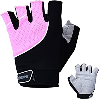 Anmsports Weight Lifting Gloves, Gym Workout Gloves Support for Powerlifting, Cross Training, Fitness, Bodybuilding, Best for Men & Women
