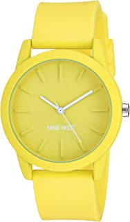 Nine West reloj de pulsera de silicona para mujer