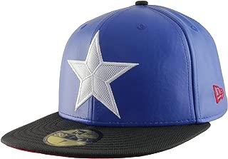 Marvel Captain America Men's Character Suit New Era 59Fifty Hat Cap