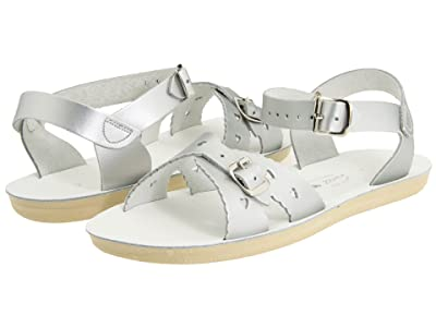 Salt Water Sandal by Hoy Shoes Sun-San Sweetheart (Toddler/Little Kid) (Silver) Girls Shoes