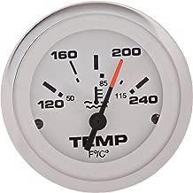 Sierra International 65509P Lido 120 to 240 Degrees F Dial Range Scratch Resistant Water Temperature Gauge, 2