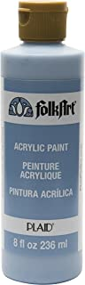FolkArt Acrylic Paint in Assorted Colors (8 oz), 874, French Blue