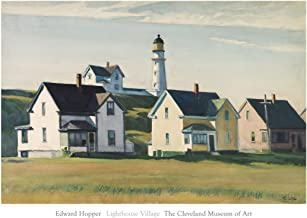 McGaw Graphics Lighthouse Village (Also Known as Cape Elizabeth), 1929 by Edward Hopper Painting Print