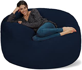 Chill Sack Bean Bag Chair: Giant 5' Memory Foam Furniture...