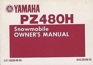 1984 YAMAHA PHAZER, PZ480H SNOWMOBILE OWNERS MANUAL LIT-12628-00-55 (866)