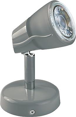 Aric 451 DIAM 01, Aluminium, GU10, 4 W, Gris